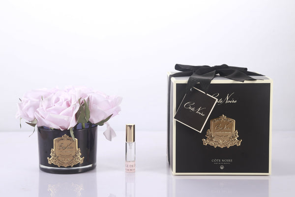 Cote Noire Perfumed Natural Touch 5 Roses - Black - French Pink - GMRB66