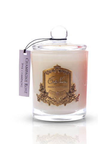 Côte Noire Soy Blend 450g Candle - Pink Champagne 450g-Limited edition