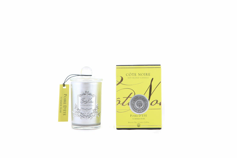 Cote Noire 75g Soy Blend Candle - Summer Pear - Silver - GMS07514