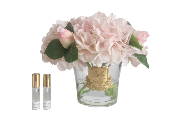 Cote Noire - Hydrangea's & Rose Buds - LTD Pink Blush - Gold - LHRB20
