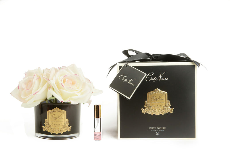 Côte Noire Perfumed Natural Touch 5 Roses - Black - Pink Blush - GMRB62