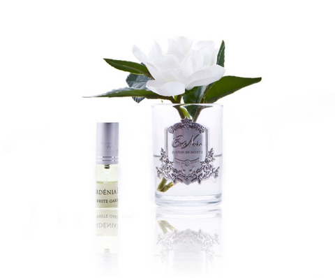 Côte Noire Perfumed Natural Touch Single Gardenias in Clear
