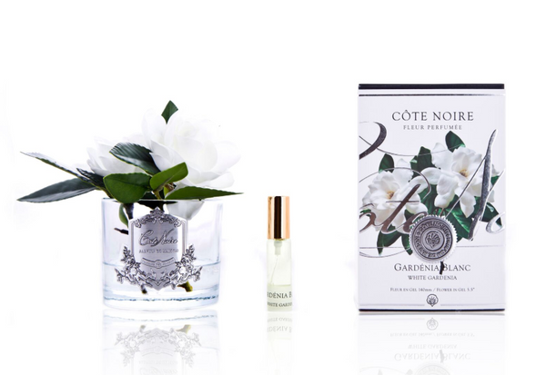 Côte Noire Perfumed Natural Touch Double Gardenias - Clear