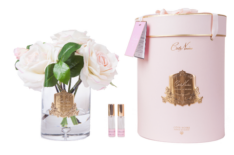 Cote Noire - Luxury Tea Rose - Limited Edition Pink Blush