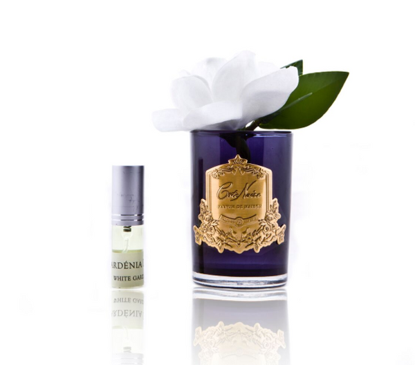 Côte Noire Perfumed Natural Touch Single Gardenias in Black