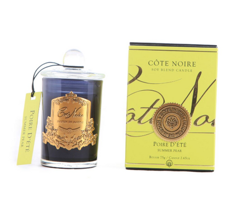Côte Noire Soy Blend 75g Black & Gold - Summer Pear 75g