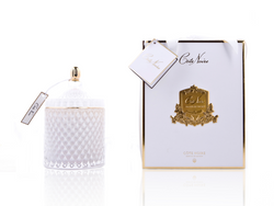 Grand White Art Deco Candle - GML45007