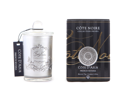 Côte Noire Soy Blend 75g Silver - French Riviera 75g