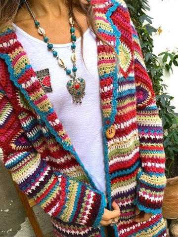 Tribal Vintage Cardigan