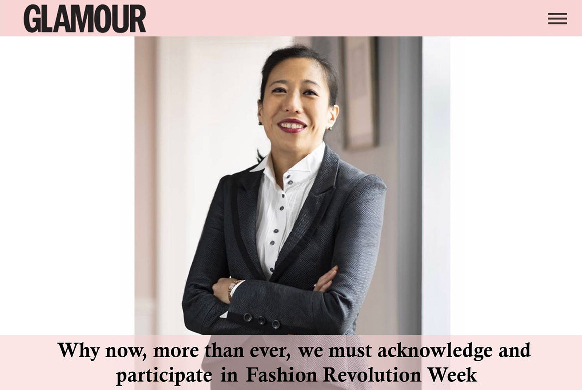 Why we need a Fashion Reformation - Dr. Bernice Pan in GLAMOUR
