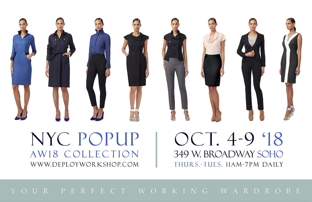 NYC DEPLOY SoHo AW18 PopUp - 4-9th October, 349 W. Broadway