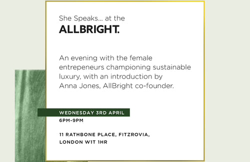 Champions of Sustainable Luxury @ AllBright