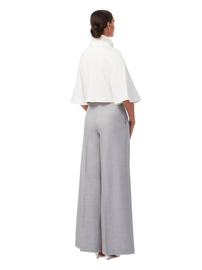 T025 _ SPIRE _ Palazzo Pant_Alabaster Grey