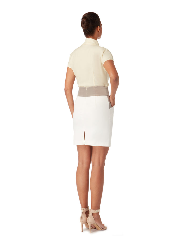 S035B_IRIS_Contrast Panel Fitted Skirt