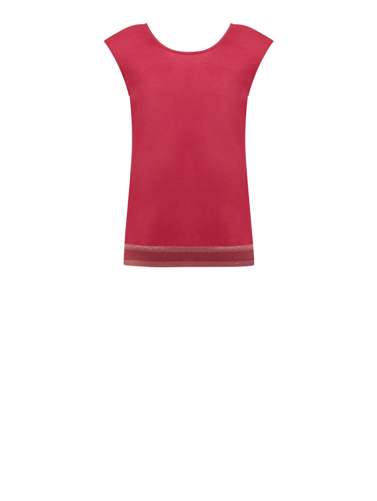 B060B_LAELIA Reversible Jersey Top_Red