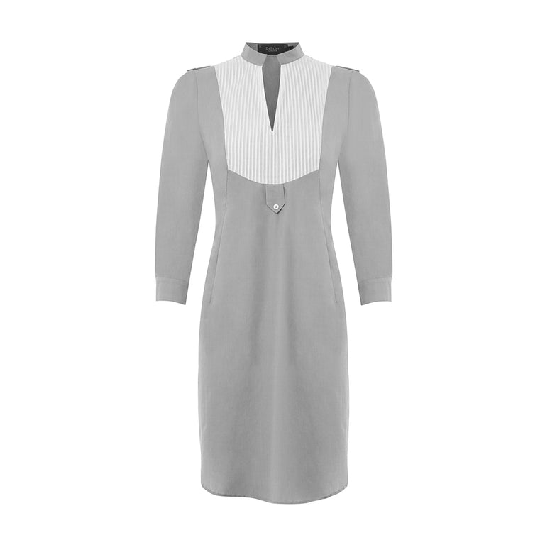 B091L _ IONIC _ Pin-Tuck Shirt-Dress