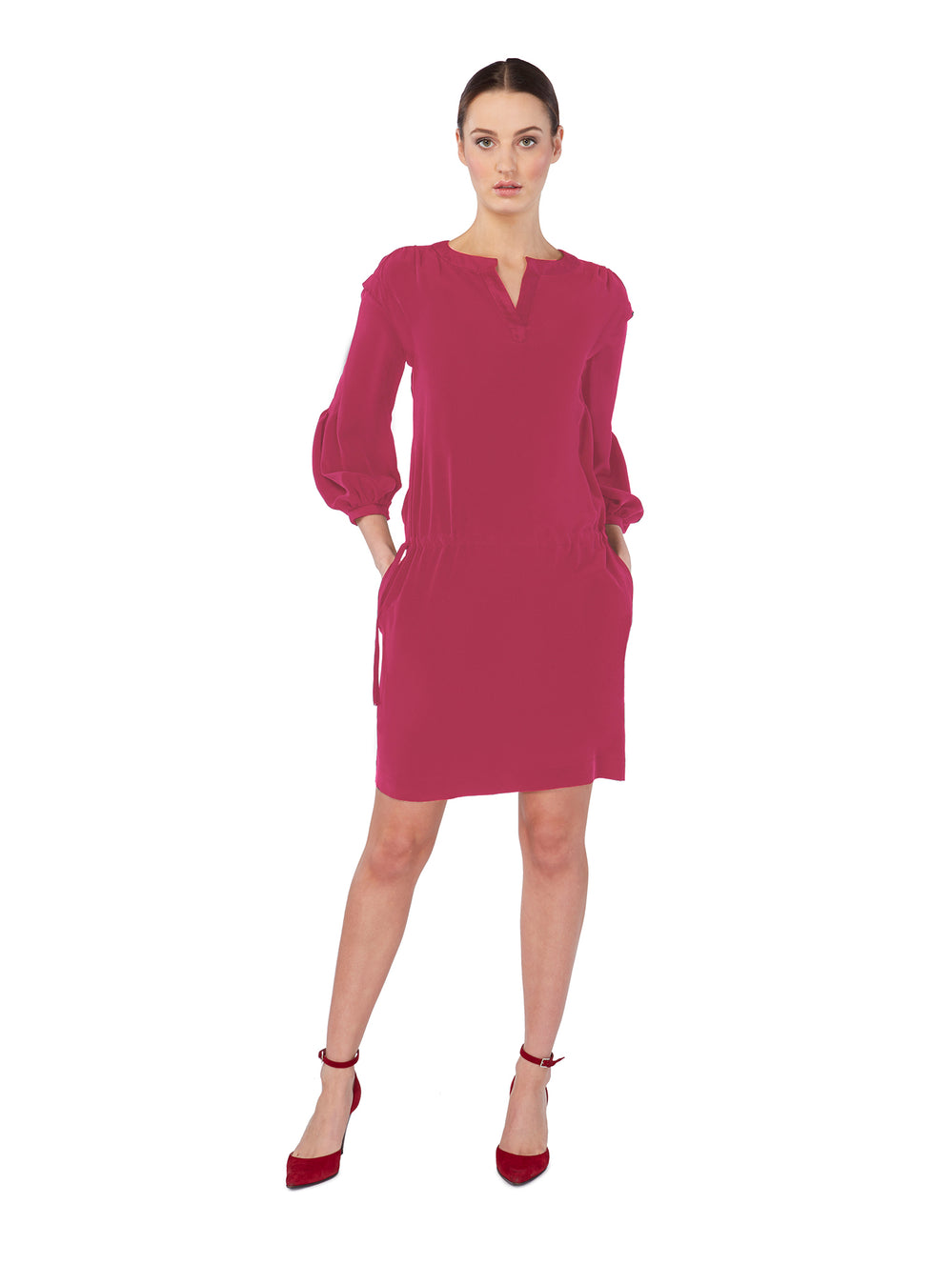 D028_Mokara Dress_Cerise