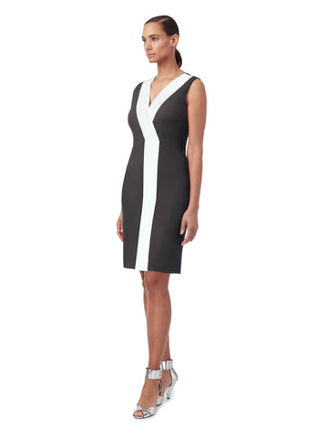 D134B _ AXIS _ V-Front Wrap Dress