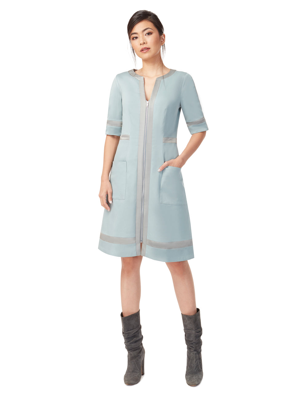 D163_RUSH_Zip-Front Coat/Dress