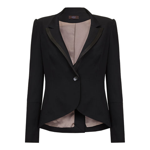 J036_ VESTIBULE _ Tailored Tuxedo Jacket