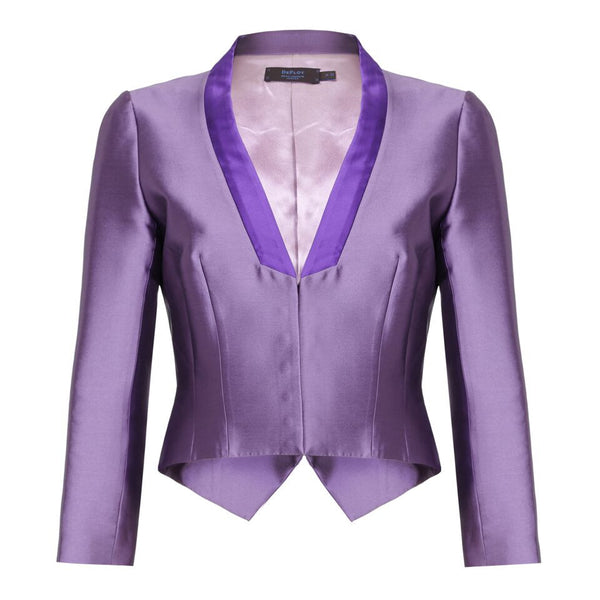 J049 _ ALISON _ Cropped Dinner Jacket