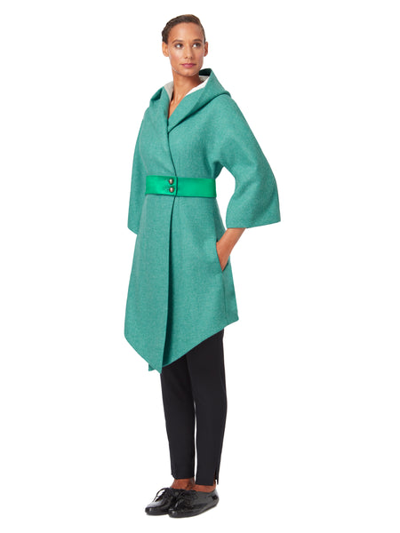 J057_COVE_Hooded Wrap Coat