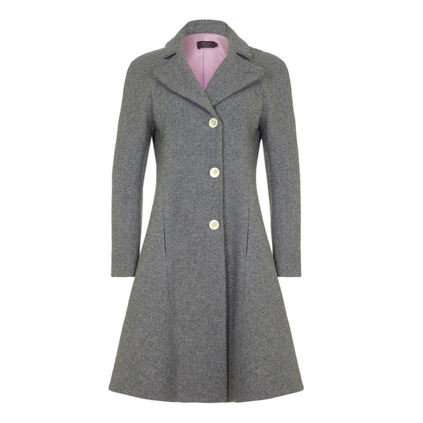 J100AW16 _ JEANETTE _ Tweed Coat