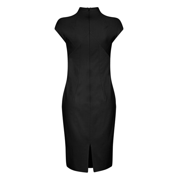 D124D _ STEM _ Fitted Jersey Dress