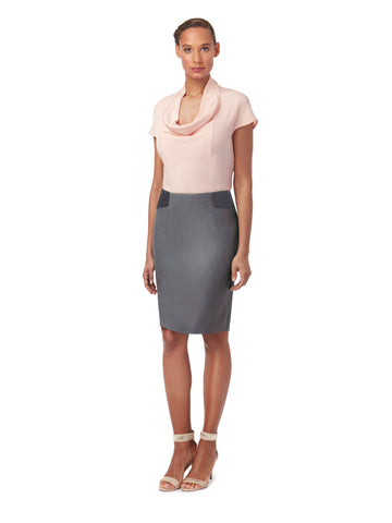 S053 _ COLUMN _ Tailored Pencil Skirt