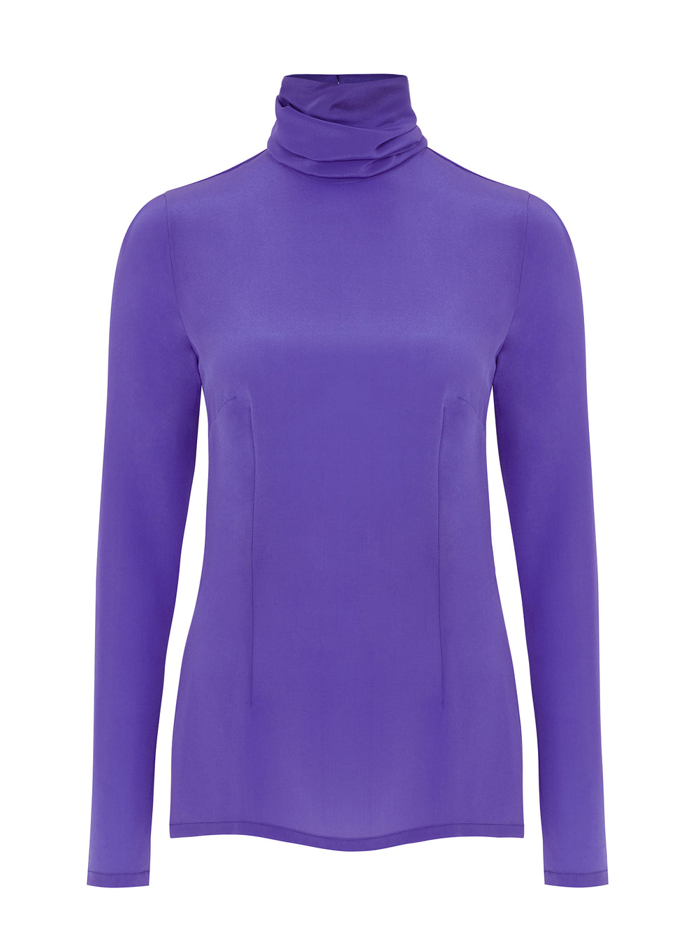 B055_ASPEN_Polo-Neck Blouse