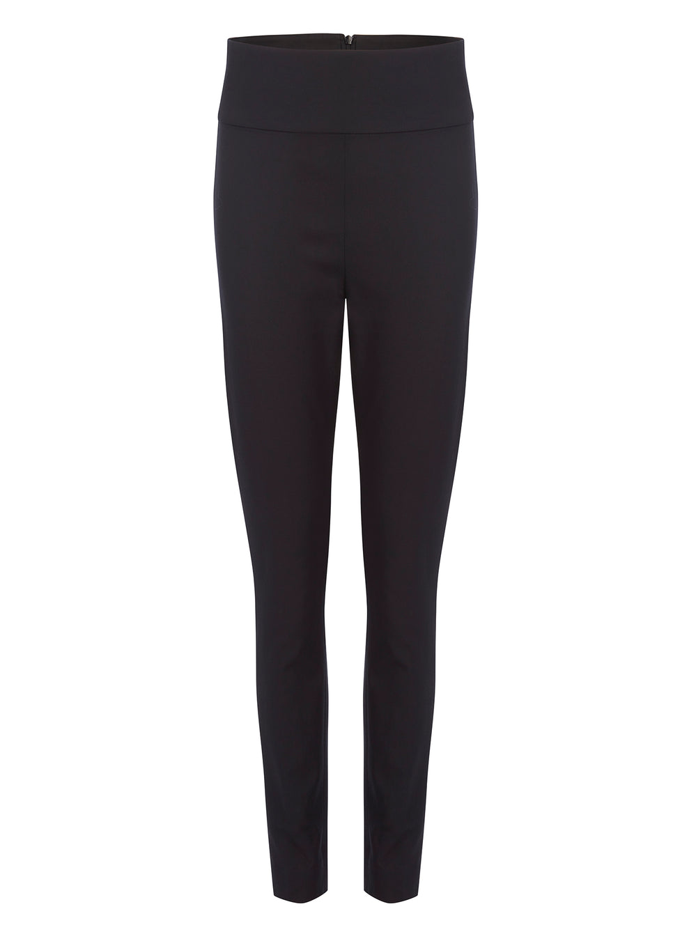 T009 _ STRUT _ Classic Black Tapered Tuxedo Trousers