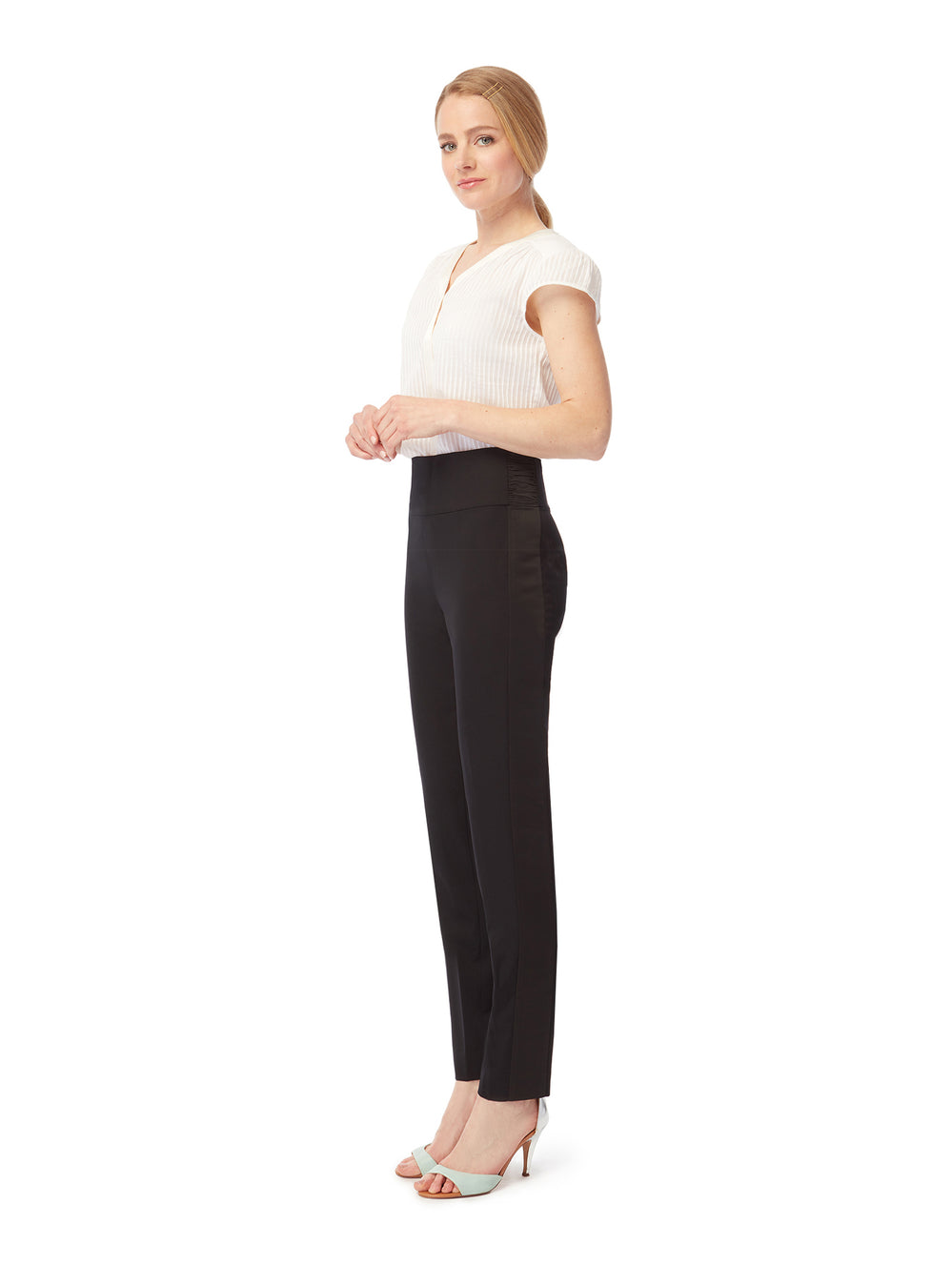 T009 _ STRUT _ Tapered Tuxedo Trousers