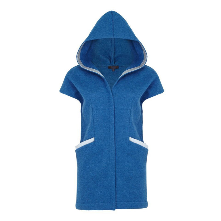 W008 _ LOG _ Hooded Vest Coat
