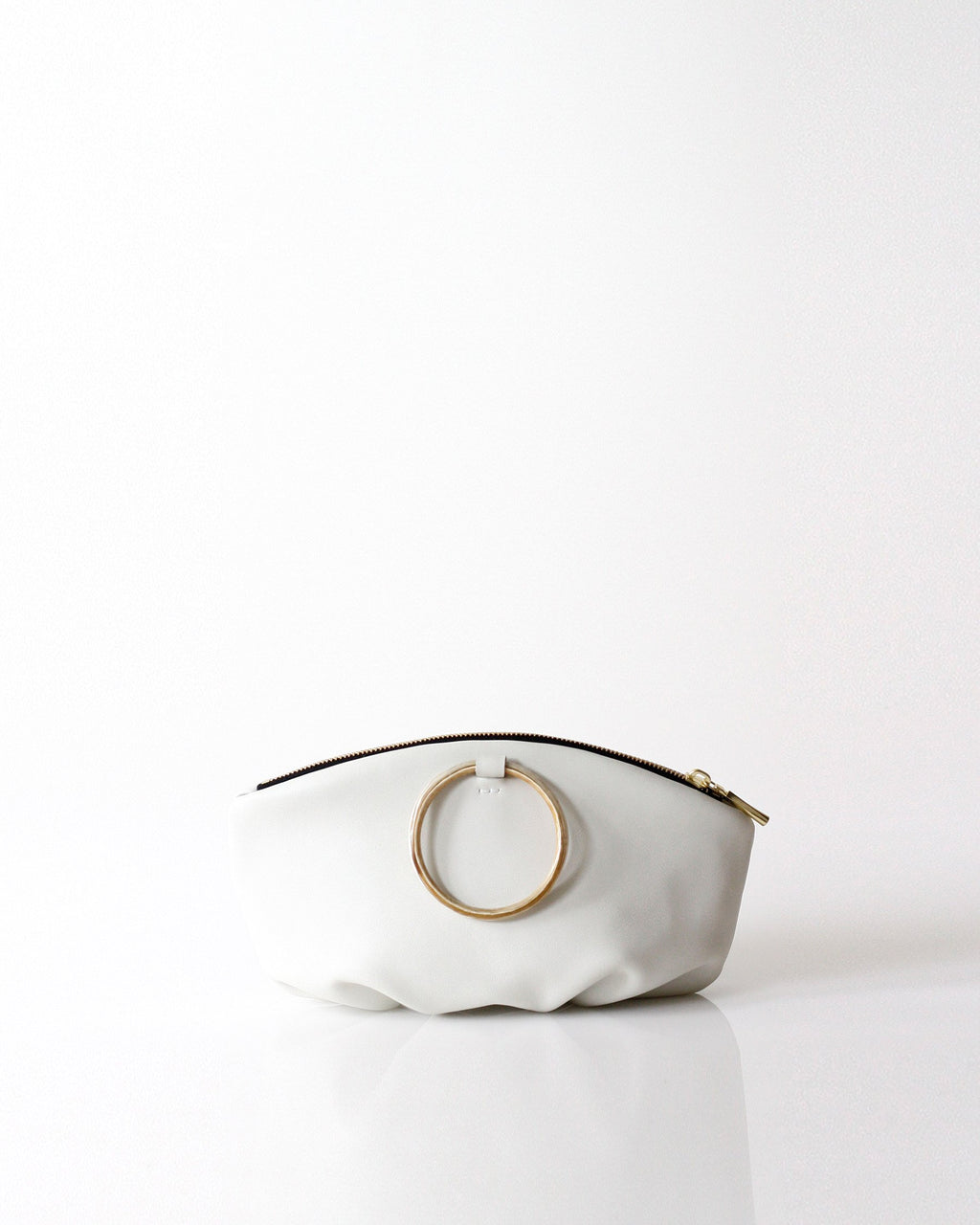 Pochette Horn Ring | Snow