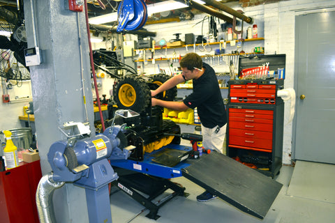 Servicing Snow Blowers