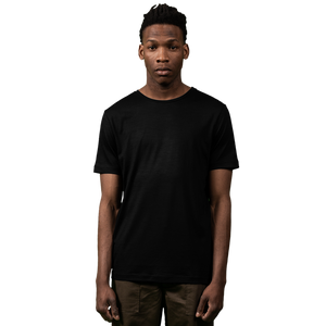 Midweight Ultrafine Merino T-Shirt | Black