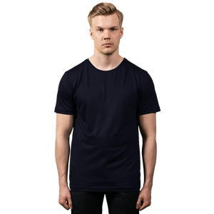 Midweight Ultrafine Merino T-Shirt | Ink