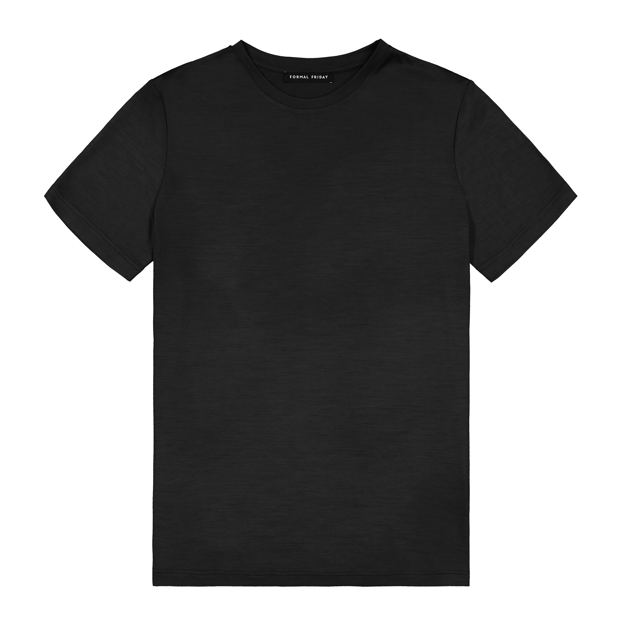 Heavyweight Ultrafine Merino T--Shirt | Steel