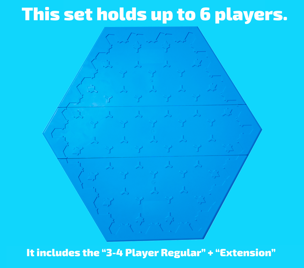 Hexyboard 6-player board game