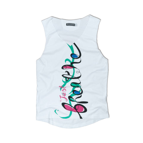 Ribbon White Tank