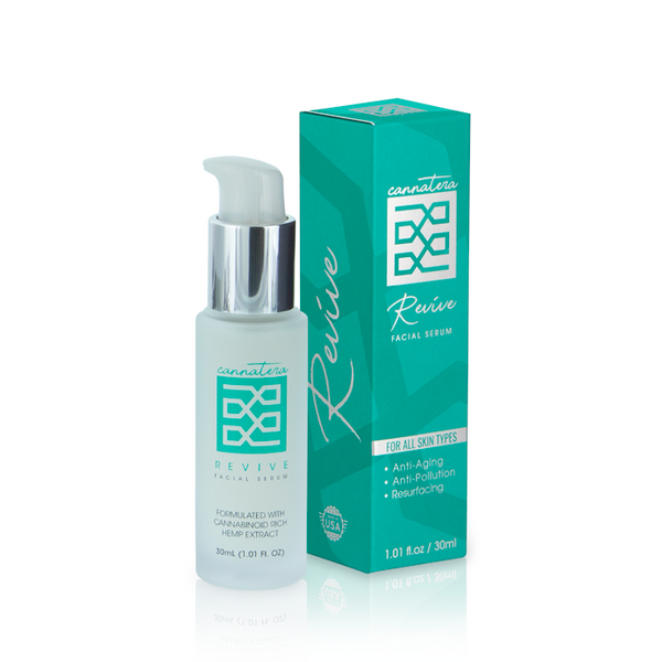 Cannatera - CBD Facial Serum REVIVE | LivWave