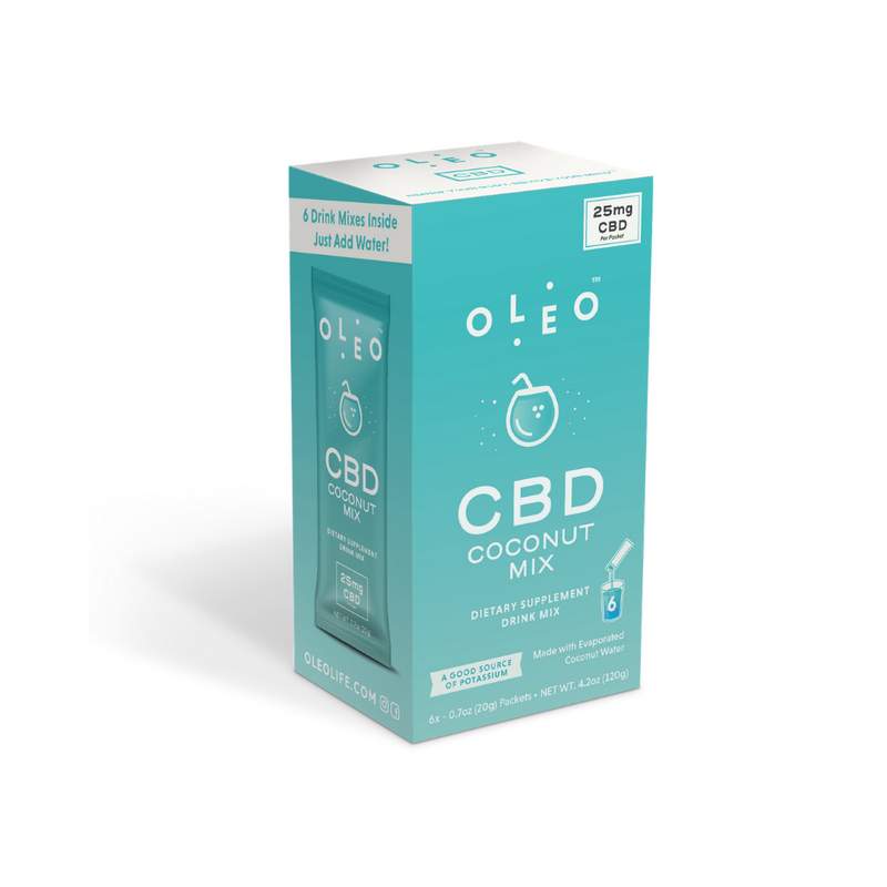 Oleo - CBD Coconut Water Mix (Individual)