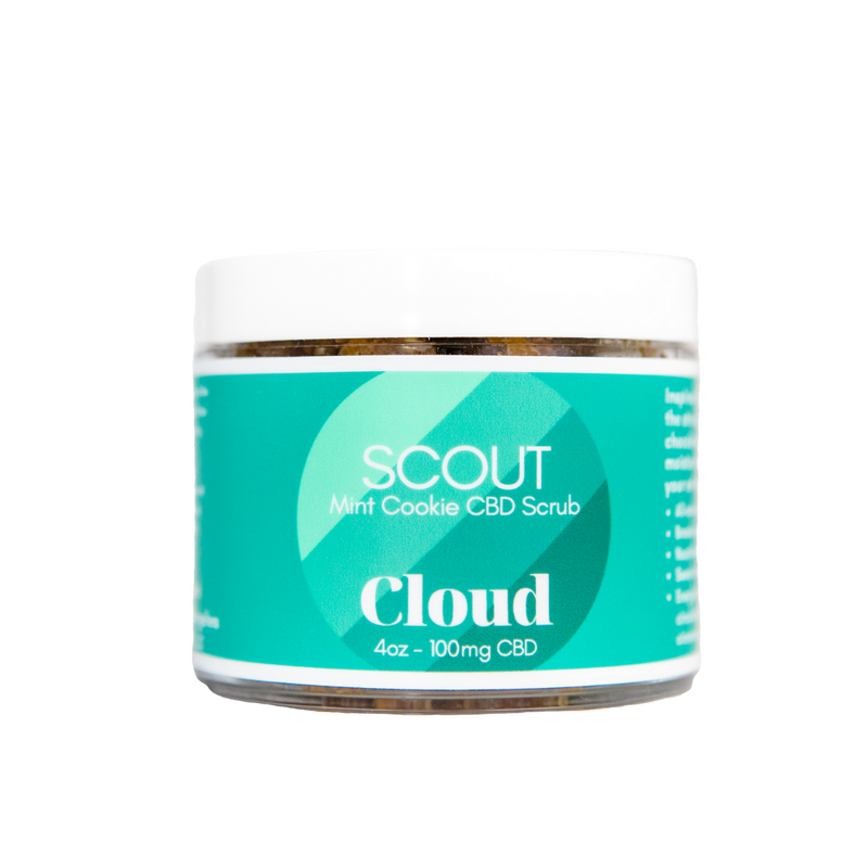 Cloud - SCOUT Mint Cookie CBD Scrub