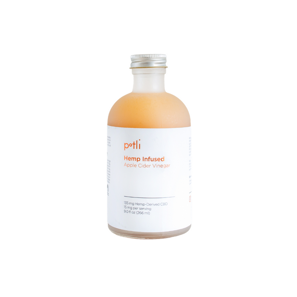 Potli Hemp Infused Apple Cider Vinegar
