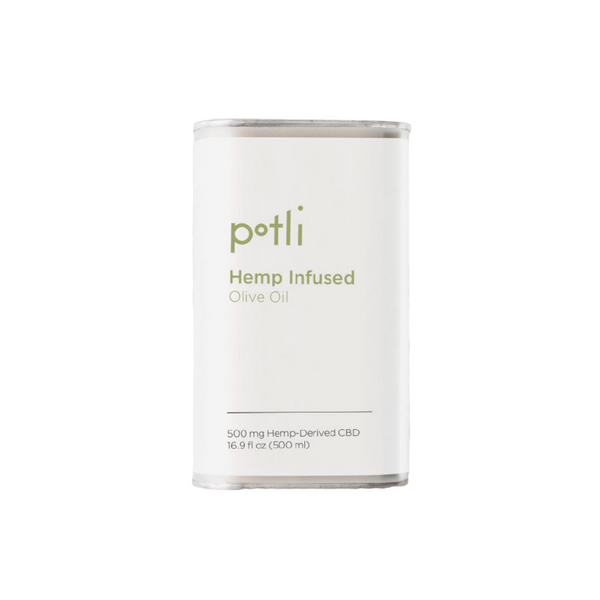 Potli Hemp Infused Olive Oil