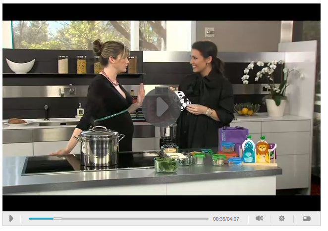 How to make your own baby food with BabyRabies Jill Krause | www.squooshi.com