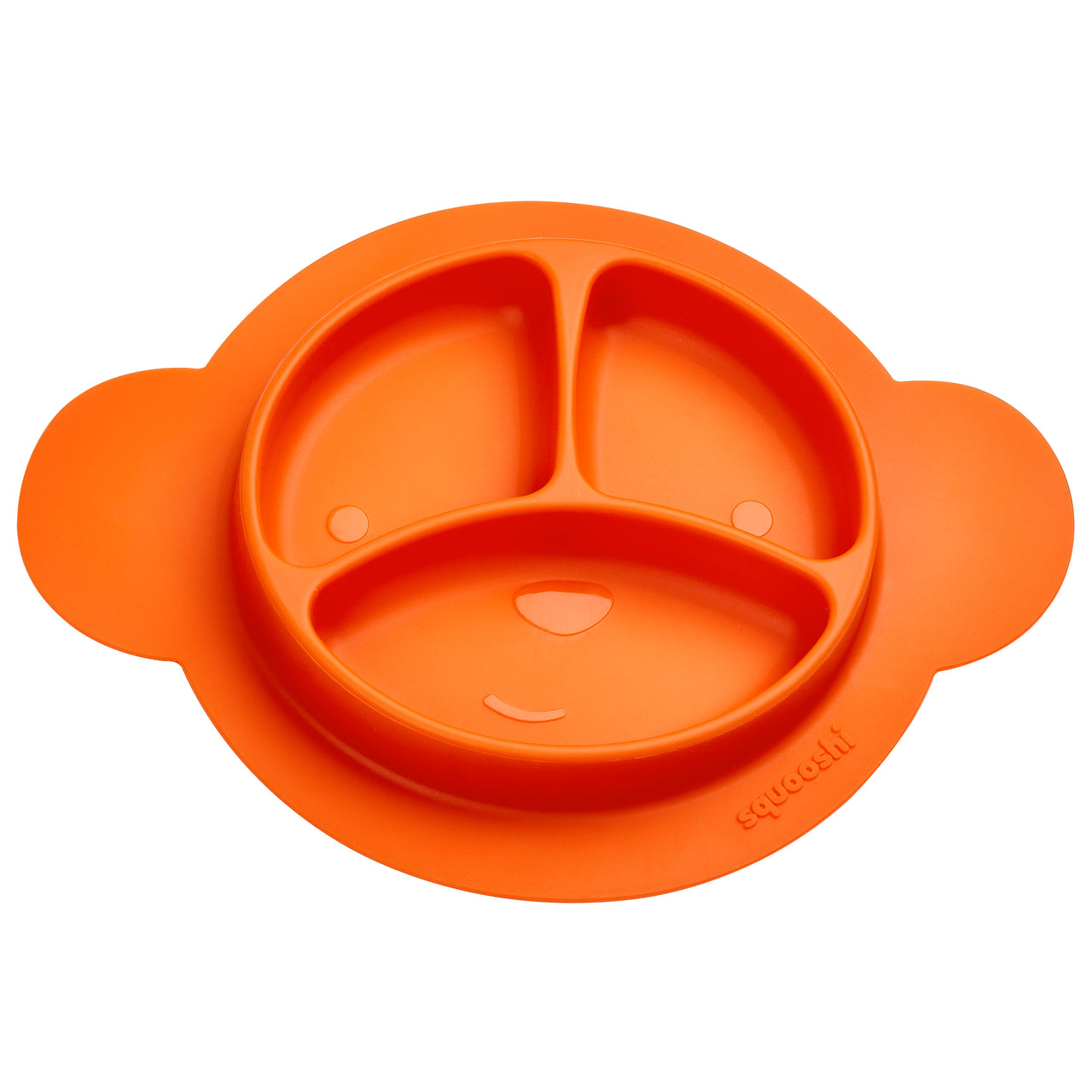 Silicone Plate | Tangerine