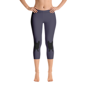 Slate Happy Capri Leggings