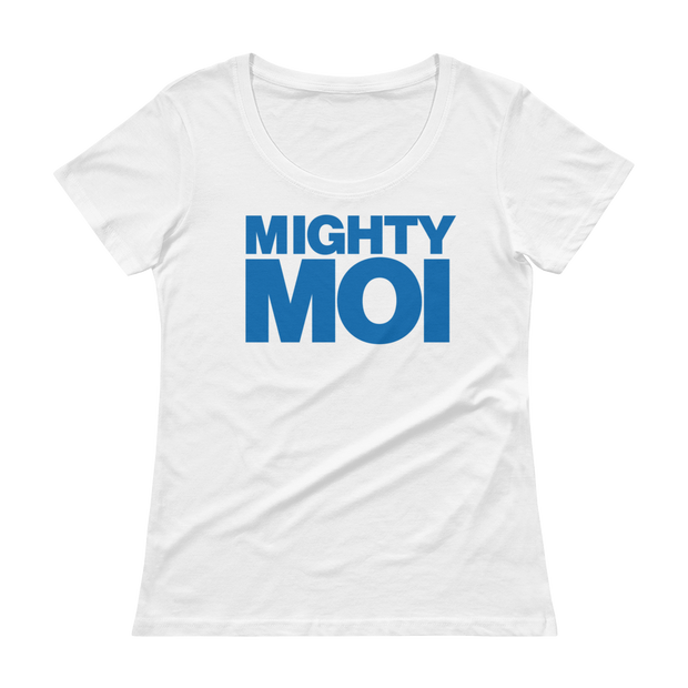 Mighty Moi - Light weight Short sleeve Semi Sheer  T-Shirt