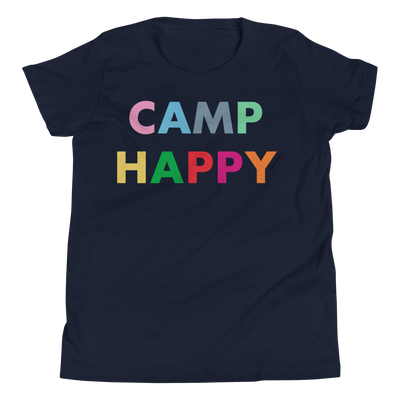 Camp Happy Multi Girl's Short Sleeve T-Shirt